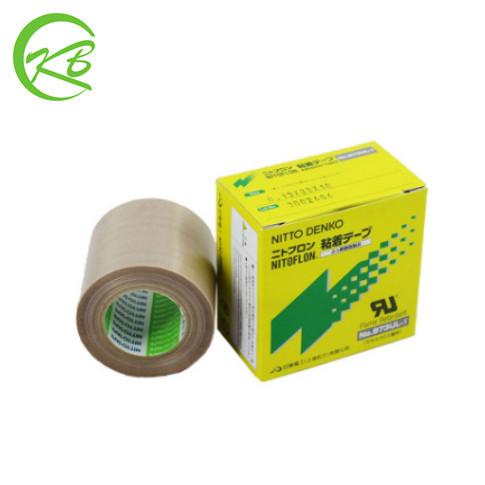 Nitto Keo dán tổng hợp Vải cách nhiệt gốc Nitto 973UL-S Băng cách điện phần cứng Teflon 0.13mm * 25m