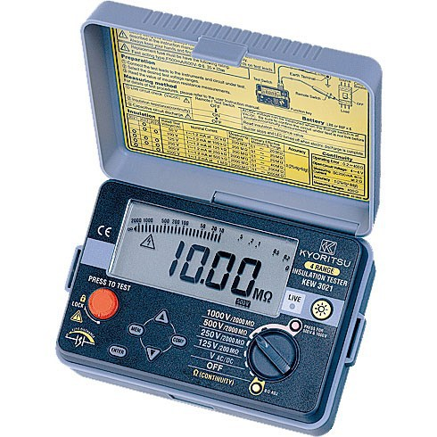 Kyoritsu Máy móc Nhật Bản Kyoritsu Kyoritsu KEW3021 3022 3023 Máy đo cách điện Kleitz Megohmmeter kỹ