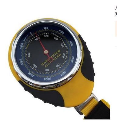 Mingle Đồng hồ đo nhiệt độ , độ ẩm Quay số biển độ cao xe ngoài trời leo núi đa chức năng phát hiện