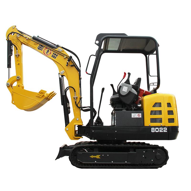 HENGWANG Máy đào đất Nhà máy trực tiếp bán hiệu suất cao máy xúc bánh xích máy xúc thủy lực máy xúc