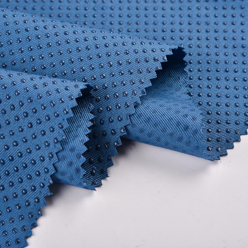 Vật liệu chức năng Nhà máy trực tiếp twill thả vải nhựa, găng tay và bao giày, vải chống trượt silic