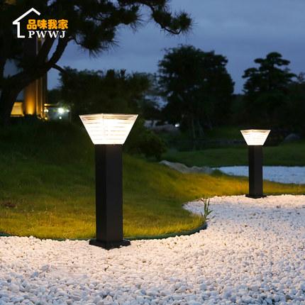 Đèn LED thảm cỏ Đèn năng lượng mặt trời sân nhà đèn ngoài trời không thấm nước đèn sân vườn bầu trời