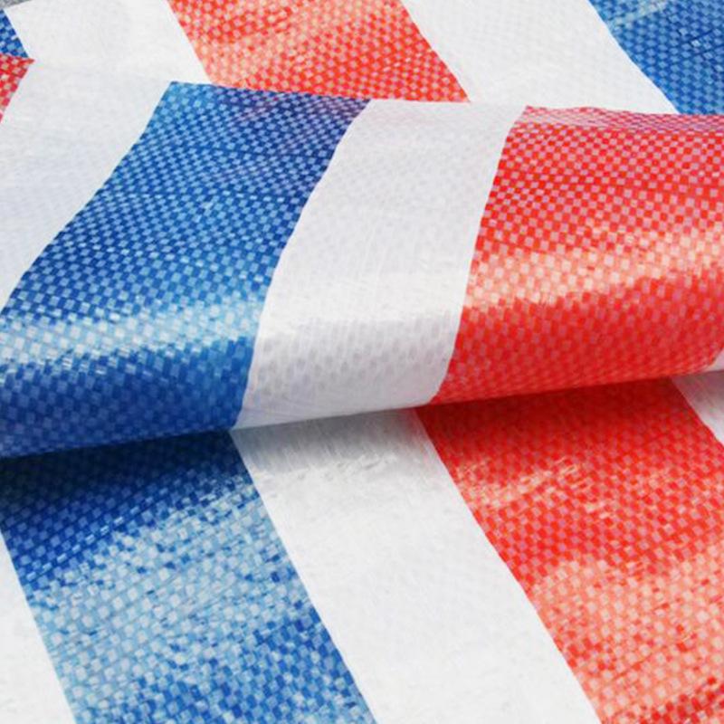 Bạt nhựa Nhà máy cung cấp trực tiếp nhựa sọc màu vải, chống thấm chống nắng xe tải sọc màu bạt, hỗ t
