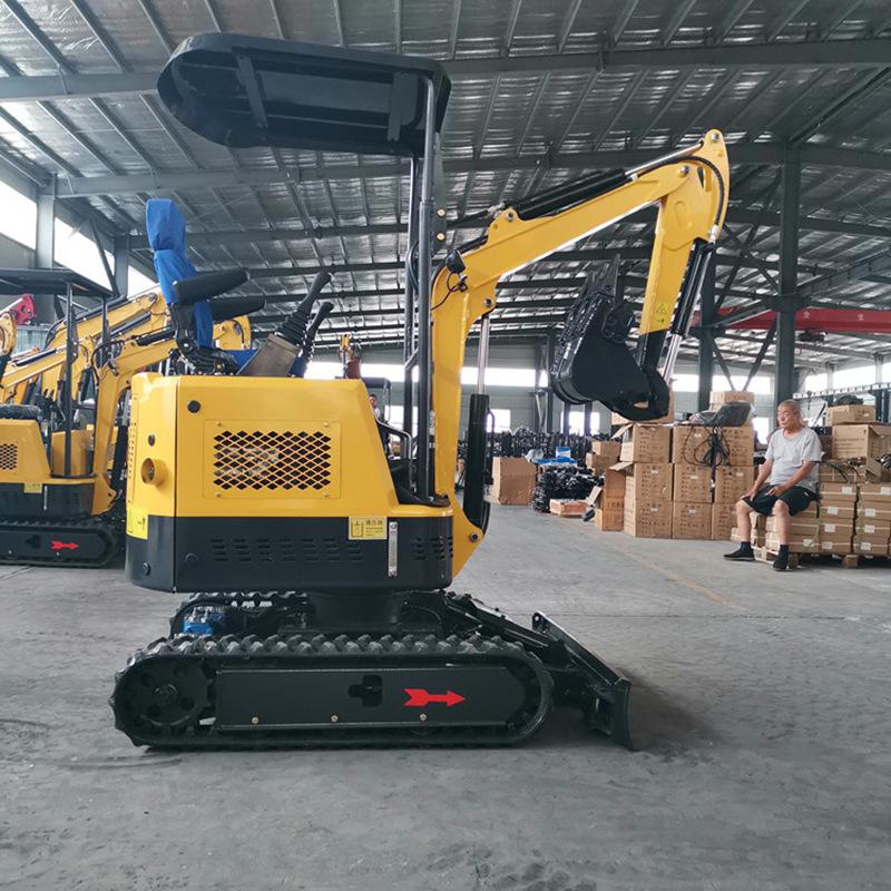 Máy đào đất Máy đào nông nghiệp quy mô nhỏ nhà máy thu thập thông tin máy móc mini móc máy mới xây d