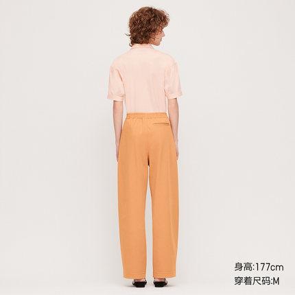 Quần Casual  【Hợp tác thiết kế】 Quần đan chéo chân rộng của phụ nữ 427862 Uniqlo UNIQLO