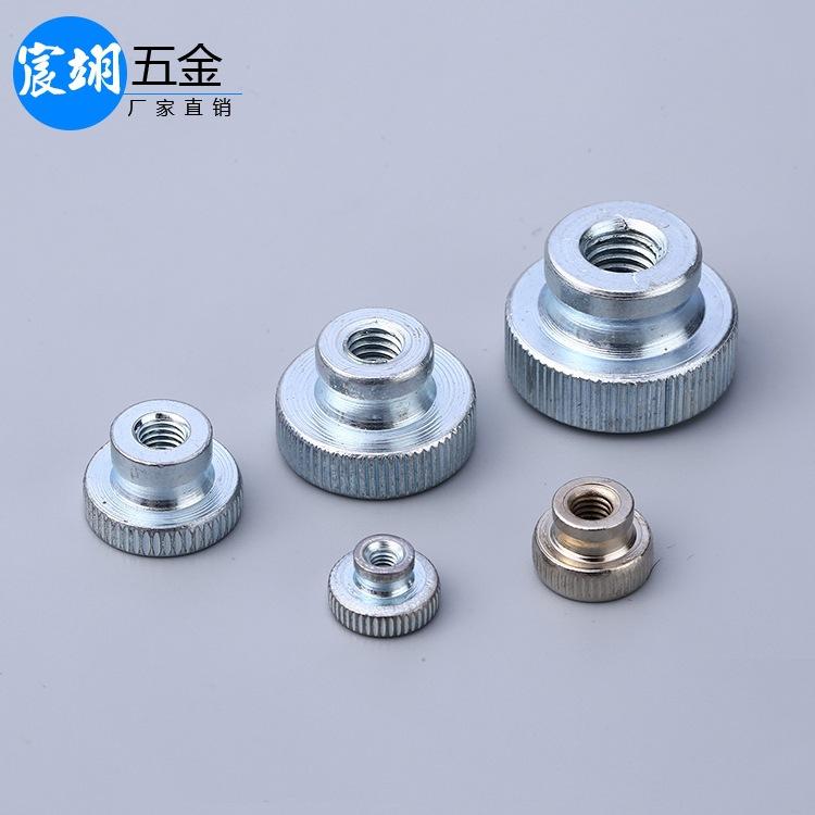 Tán Nhà máy bán buôn GB806 M3-M10 đầu cao có khía nut bước tay vít nut cao điều chỉnh nut