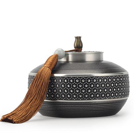 Haomingtian Hũ kim loại Lon trà nhỏ lon trà lon thủ công đóng hộp lon trà xách tay đóng gói bộ sưu t