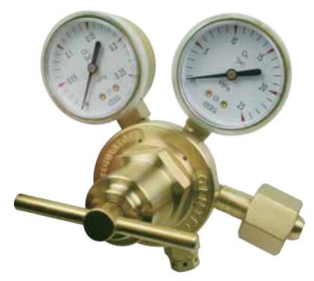 GENTEC Đồng hồ đo áp suất Hoa Kỳ Jie Rui GENTEC 152TX-125 Bộ giảm áp cỡ trung bình hai giai đoạn cho