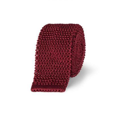 Charvet Áo sơ mi nam xuân 2020 sản phẩm mới 5 thắt nơ lụa dệt kim sang trọng tên lớn