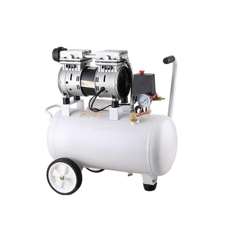 MEIQI Máy nén khí im lặng không dầu 0,75HP 5HP 10HP phun cát tự động sửa chữa phun sơn công cụ khí n