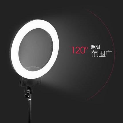 Weifeng Đèn mổ không tạo bóng  L560 Ring LED Fill Light Live Nhiếp ảnh Nhiếp ảnh Trang điểm Vẻ đẹp M