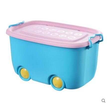 Thùng nhựa Dày hộp lưu trữ đồ chơi cho bé .