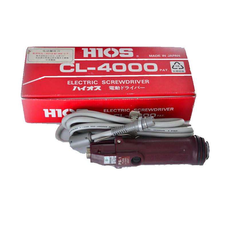 HIOS Linh kiện sắt thép Dụng cụ điện mini bán buôn lô điện HIOS set cl-4000 tuốc nơ vít điện đa chức
