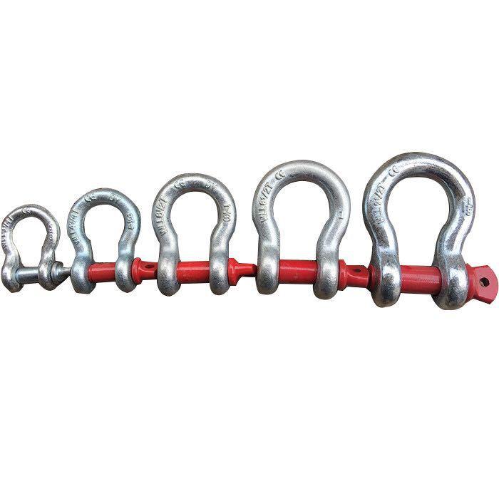 TUOLI Ma-ní Nhà máy trực tiếp bán hàng Mỹ cung nâng còng thép cường độ cao hợp kim đỏ G209 còng 4,75