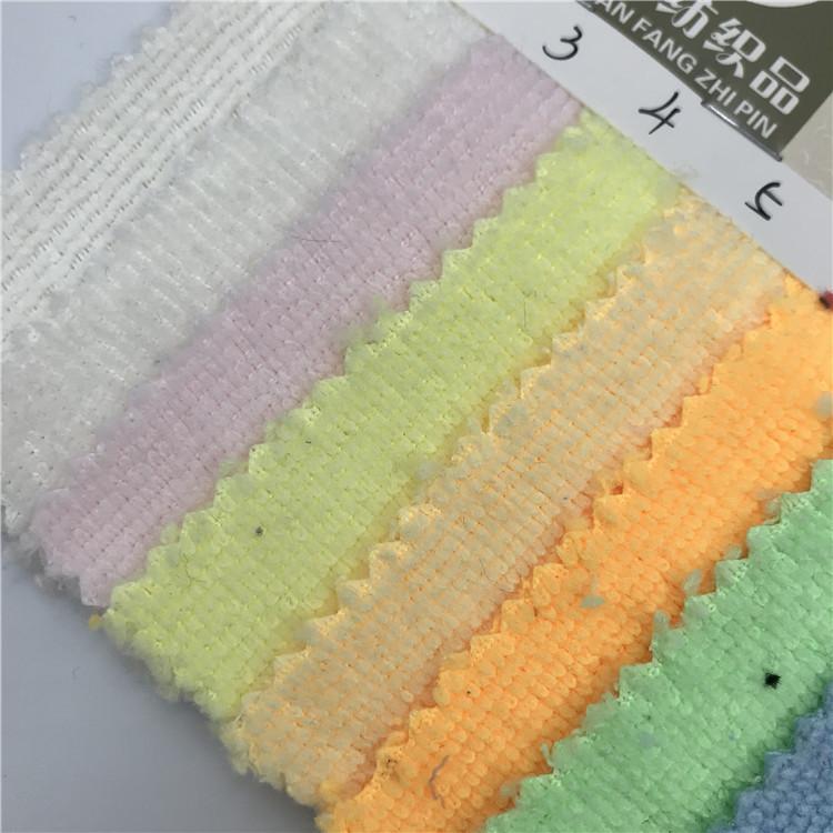 DIXUAN Vải khăn lông Cung cấp tại chỗ sợi polyester sợi bông hai mặt thấm hút mạnh khăn vải hộ gia đ