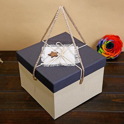 Hộp quà tặng  Hộp quà tặng vuông quá khổ tay quà tặng hộp quà tặng lớn hộp quà tặng sinh nhật hộp qu