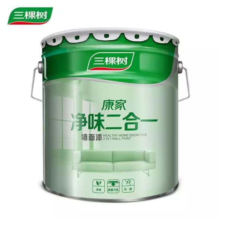 SANKESHU Sơn Ba cây sơn tường acrylic sơn nước sơn tường nội thất sơn latex sơn tường Kangjia Jingwe