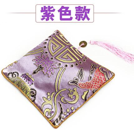 Wenwan Túi đựng trang sức túi đĩa hạt dây kéo thêu kit hạt hạt vòng tay trang sức túi mặt dây chuyền