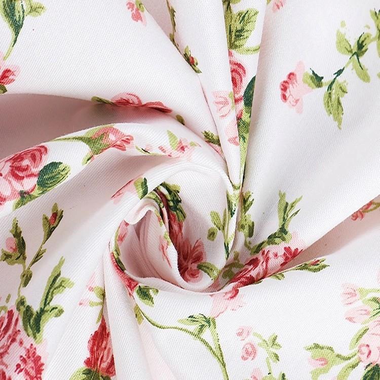 LISER Vải Chiffon & Printing Vải twill vải màu xám vải in 133 * 72 vải bông tinh khiết vải chéo