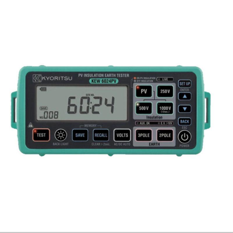 KYORITSU Máy móc Máy đo điện trở cách điện Kletz KYORITSU KEW 6024PV Dụng cụ đa năng cách điện