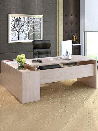 Thị trường nội thất văn phòng  Bàn đơn giản hiện đại ông chủ bàn đơn và ghế kết hợp nội thất văn phò
