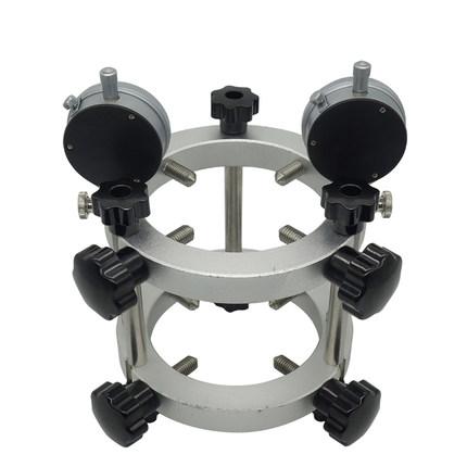Dụng cụ đo độ đàn hồi Máy thử mô đun đàn hồi vữa tỷ lệ Poisson của khung quay số giá đỡ vi biến dạng