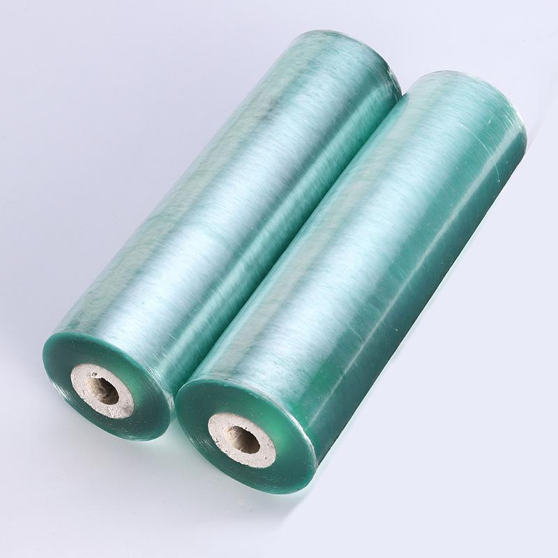 MINGSHENG Màng bao bì PE kéo căng màng nhựa PVC màng lớn cuộn công nghiệp bám màng khay đóng gói bao