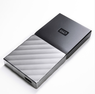 Western data 2TB type-C mobile hard disk solid state PSSD my passport high speed transmission
