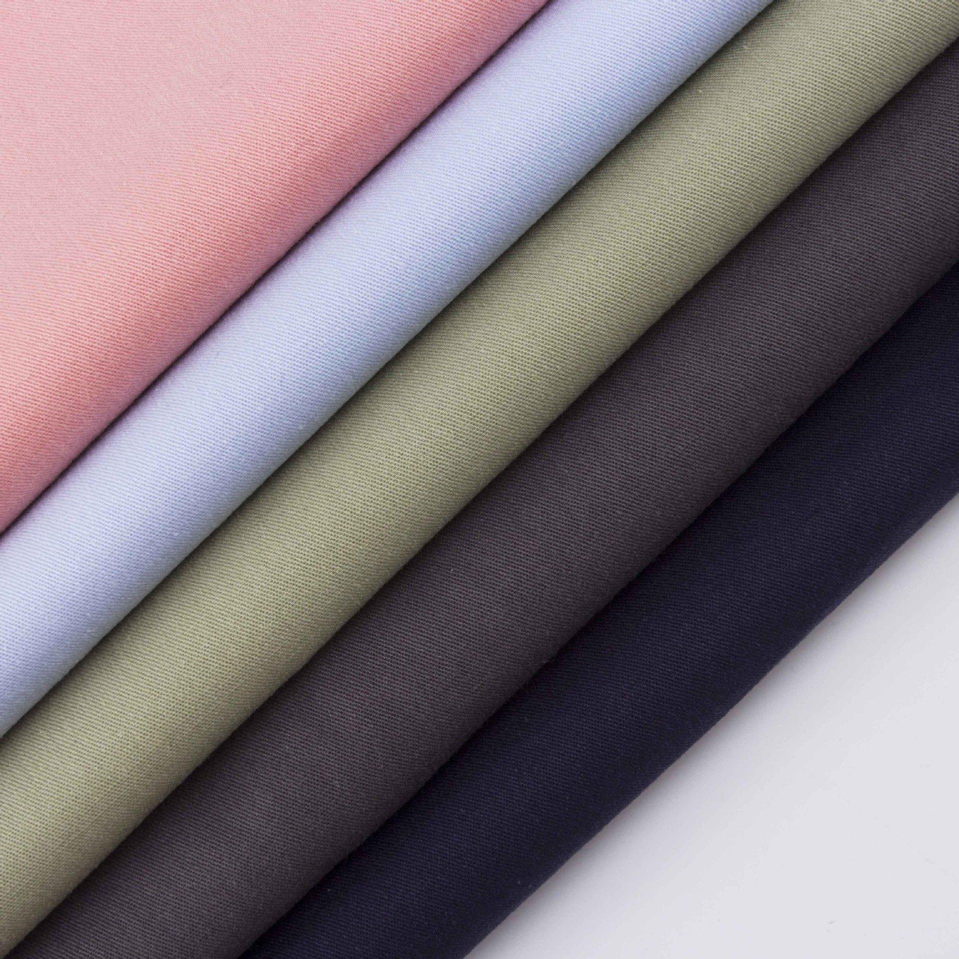 SHAOXING V ải Twill [Spot] Thẻ cotton 32 * 16 cổ điển mùa xuân và mùa hè trẻ em mặc quần áo công sở