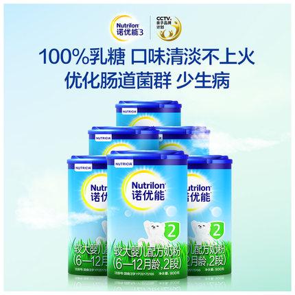 Nutrilon Thị trường đồ dùng mẹ và bé Sữa bột Nutrilon Nuo Youneng 2 đoạn 6-12 tháng sữa công thức sá