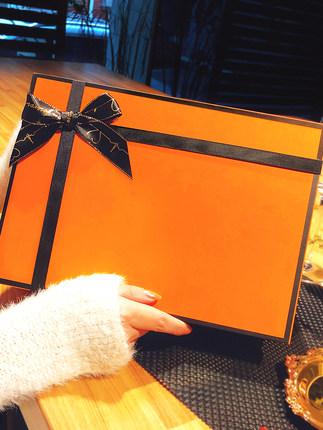 Hộp quà tặng  Hộp quà tặng phong cách tinh tế Phiên bản tiếng Hàn của Douyin net hộp quà tặng sinh n