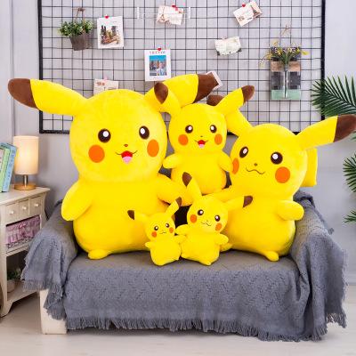 Búp bê vải Dễ thương búp bê Pikachu đồ chơi sang trọng Pokémon loạt rag búp bê nhà máy bán hàng trực