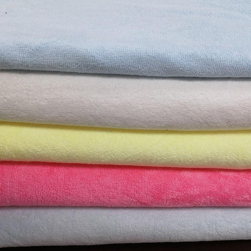 YILUN Vải khăn lông Bán nóng tại chỗ sợi polyester Dệt kim hai mặt Khăn vải cho bà bầu và đồ dùng gi