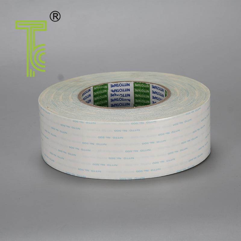NITTO Keo dán tổng hợp Nhà sản xuất bán buôn NITTO 500 băng keo hai mặt mạnh mẽ chịu được băng keo h