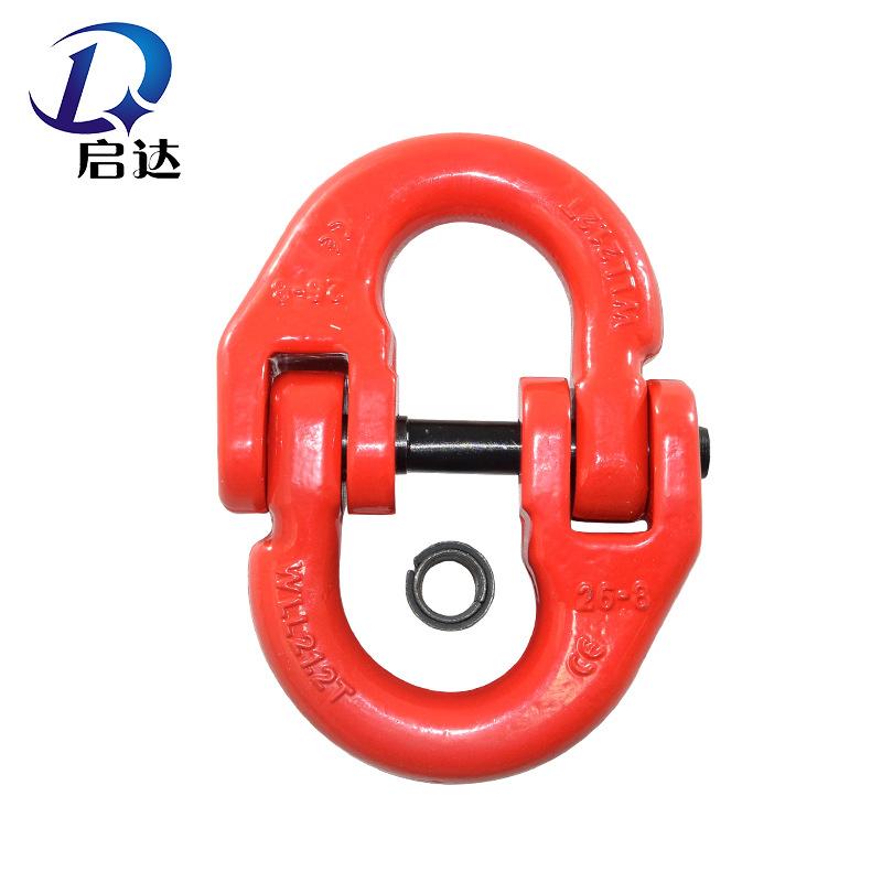QIDA Ma-ní Bướm khóa nâng còng đôi chuỗi vòng liên kết khóa đa thông số cường độ cao nâng khóa nâng