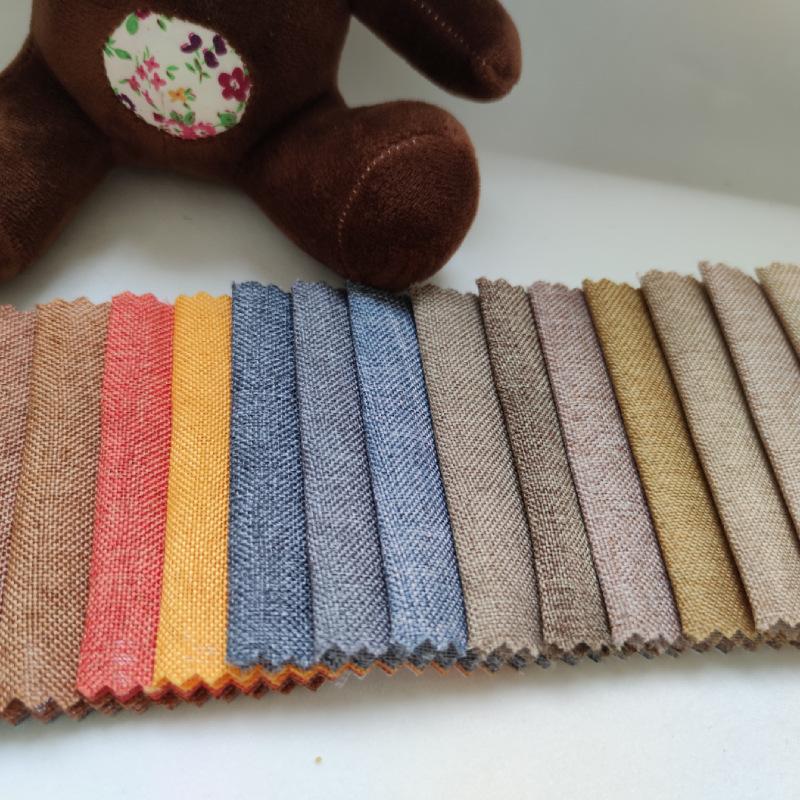SHAOHUA Vải Linen Vải lanh vải lanh bán buôn gối vải muối túi đậu vải lanh vải lanh vải lanh vải rắn