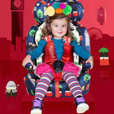 Cosatto Xe đẩy trẻ em Ghế an toàn xe hơi trẻ em Cosatto 9 tháng-12 tuổi phổ thông 0-4 bánh xe ghế kh