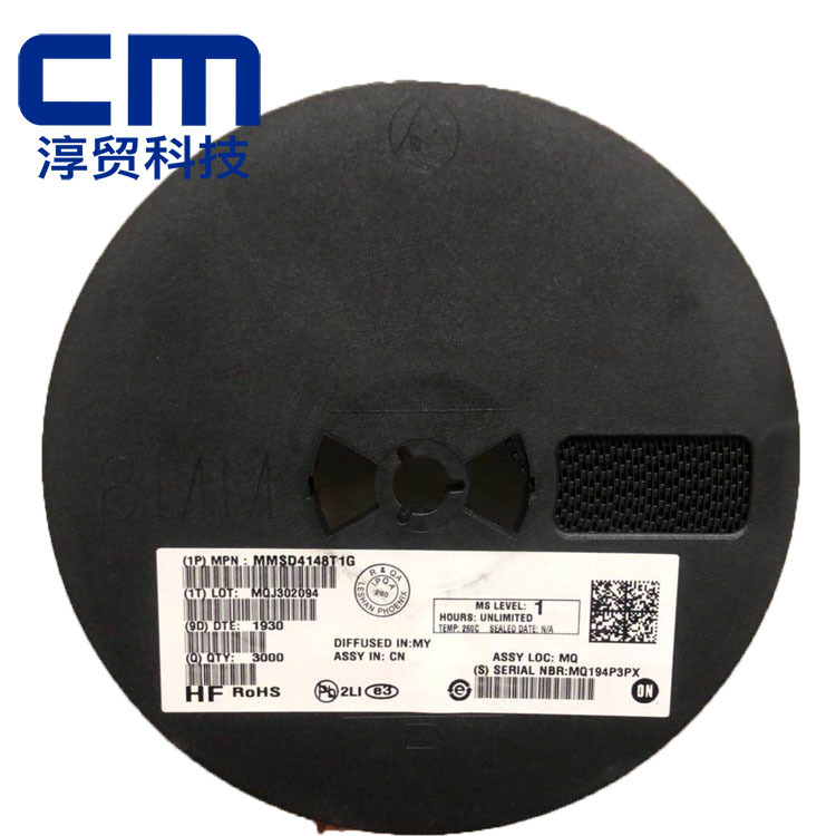 ON Điốt bán dẫn MMSD4148T1G SOD-123 ON ON Diode điều chỉnh tuyến tính bán dẫn
