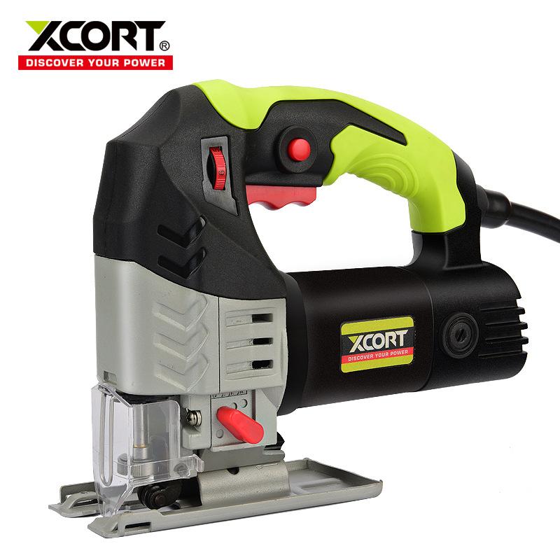 XCORT Dụng cụ bằng điện 65 jig cưa tốc độ di động chế biến gỗ điện tay cưa hộ gia đình kéo hoa cưa c