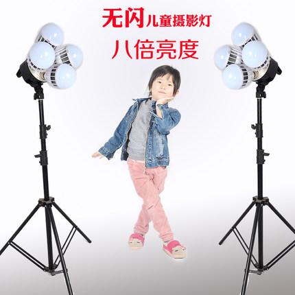 Đèn mổ không tạo bóng  Đèn LED chụp ảnh trẻ em flashless studio bóng đèn không bóng đèn hộp ảnh đặt