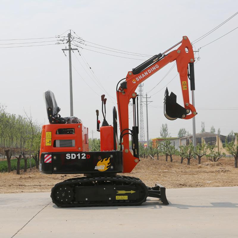 SHANDING Máy đào đất Bắc Kinh cung cấp trực tiếp máy xúc nhỏ, máy xúc bánh xích thu nhỏ, cải tạo đất