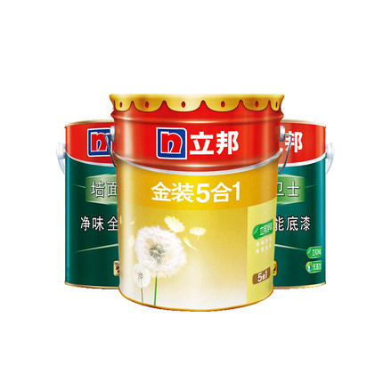 Nippon Sơn Nippon Gold Flavor Five-in-One latex Sơn nội thất sơn tường 28L