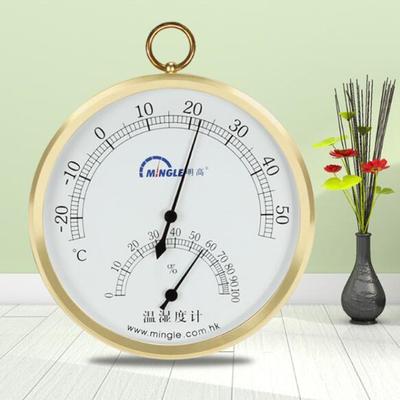 Mingle Đồng hồ đo nhiệt độ , độ ẩm Minh nhiệt độ cao nhiệt độ cơ nhiệt độ và độ ẩm bảng ba in thép k
