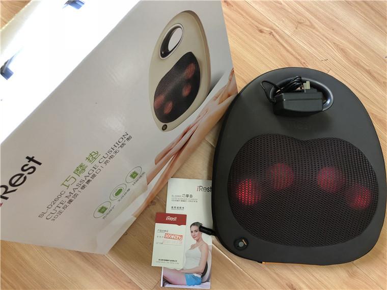 Irest Máy massage Ailisite SL-D260C Qiaomo pad massage cushion massager sạc không dây chính hãng