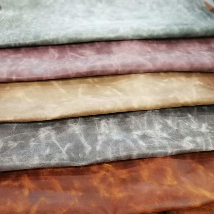 Da dê Lớp đầu tiên của sáp hai màu dầu da cừu nhà sản xuất da cổ sáp dầu thay đổi màu da đốm dầu sáp