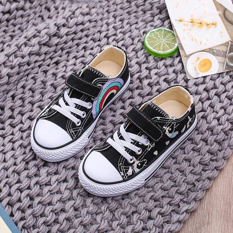 giày vải Mùa xuân và mùa hè giày trẻ em bé trai Giày vải thông thường Giày thể thao đế thấp, giày lư
