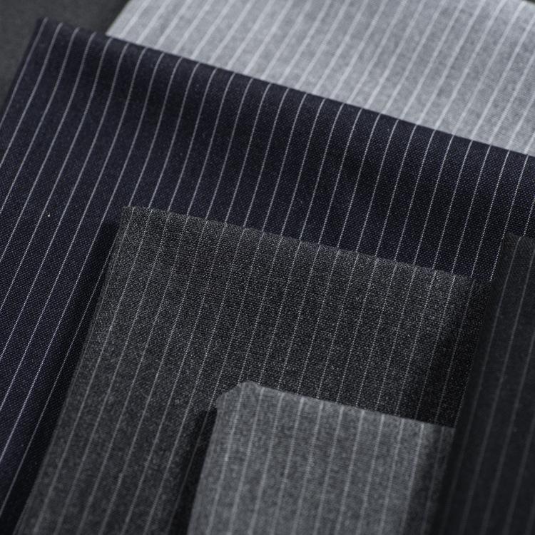 XINTIANYUAN Vải dệt may Nhà máy bán hàng trực tiếp thương hiệu tại chỗ kéo sợi dệt vải tr sọc phù hợ