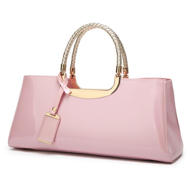 Túi xách nữ thời trang Nhà máy bán hàng trực tiếp 2020 Thời trang châu Âu và Mỹ da bằng sáng chế da