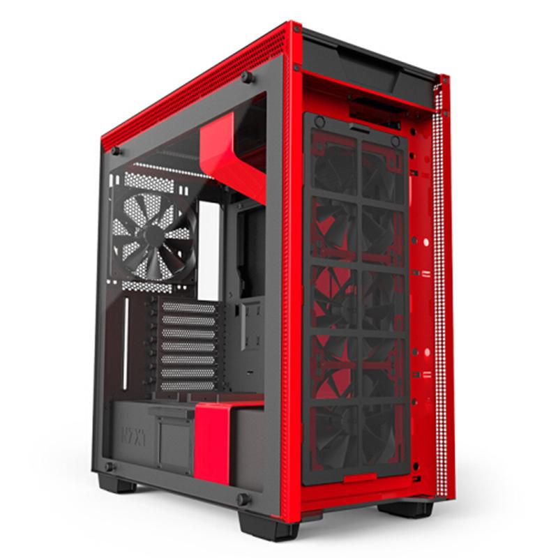 NZXT / Enjie h700i H700, thép tòa tháp thông thái của ATX, hộp cứng thời trang đơn giản.