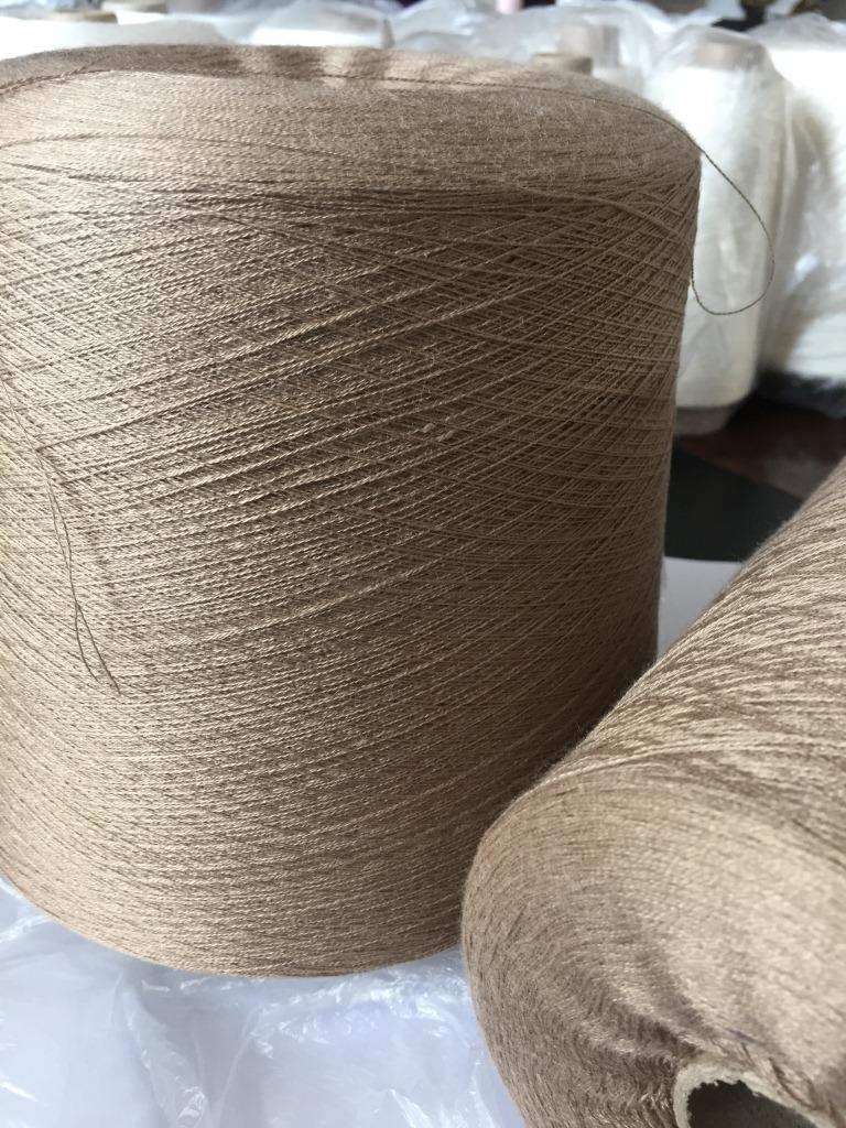 Sợi pha , sợi tổng hợp Cung cấp tại chỗ 85 Acrylic 15 Len 2 / 48NM Len len 85/15 Sợi dệt kim